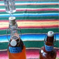 Bottled Kombucha with airlock