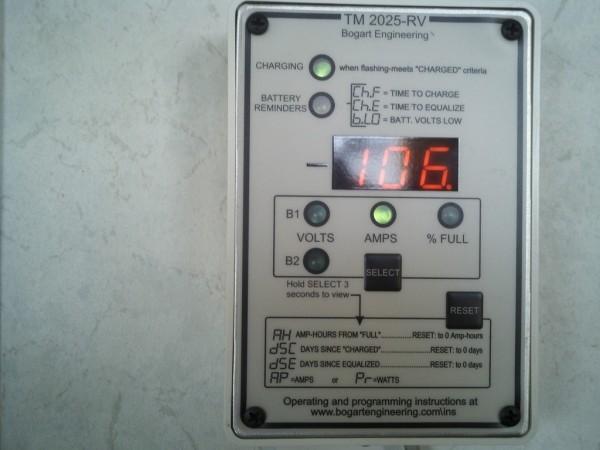 Trimetric charging at full power