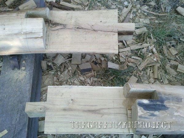 Timber frame scarf joint