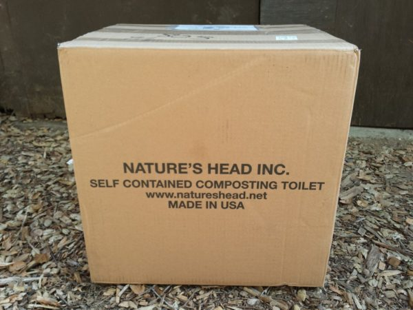 Natures Head Composting Toilet