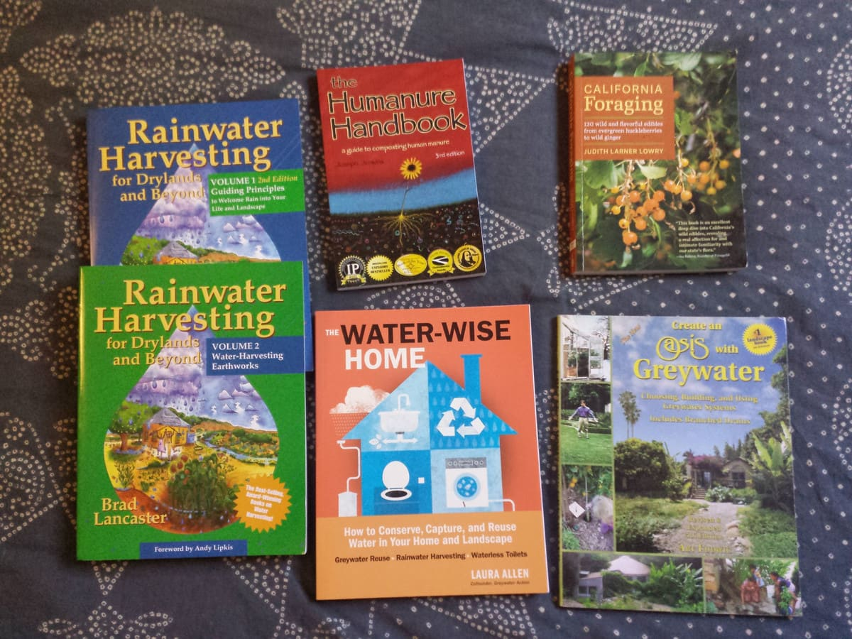 Water related books - The Greenman Project