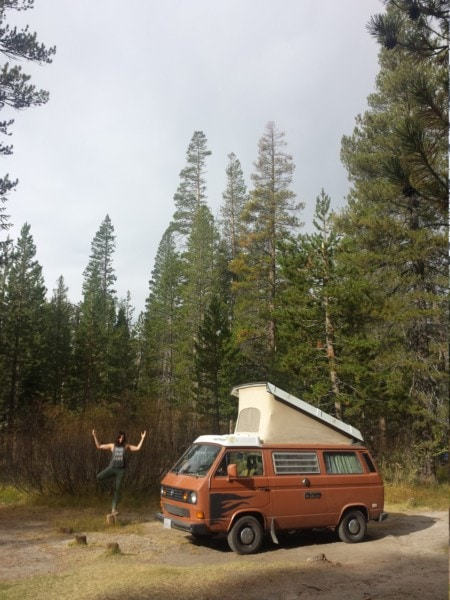 Westy roadtrip - The Greenman Project - Westfalia VW