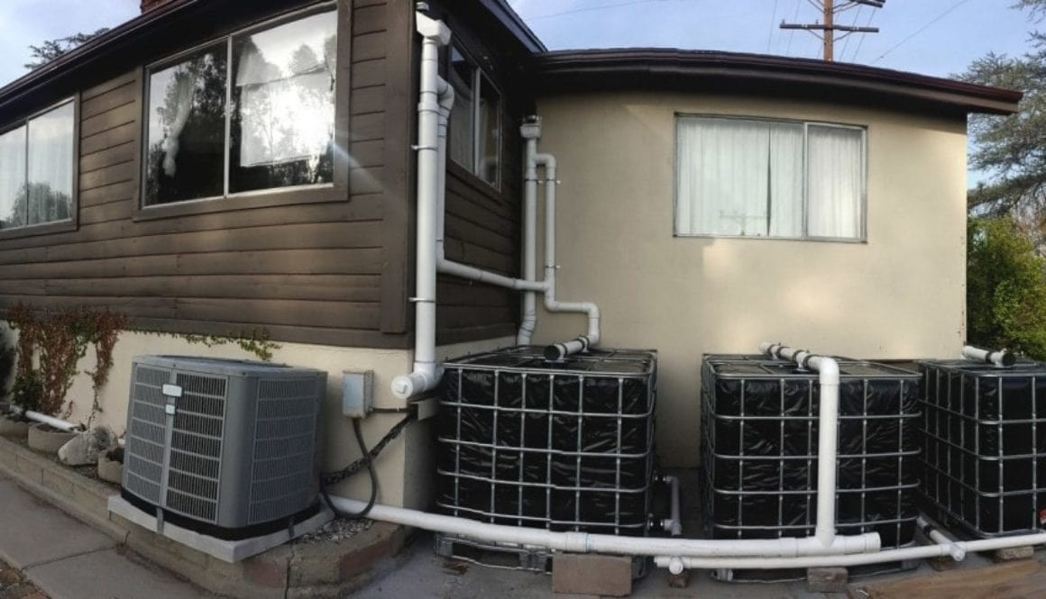 Rainwater Harvesting With IBC Tanks - The Greenman Project