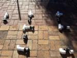 Rainwater Harvesting - Mockup of parts - The Greenman Project