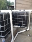 Rainwater Harvesting - Overflow and connections - The Greenman Project