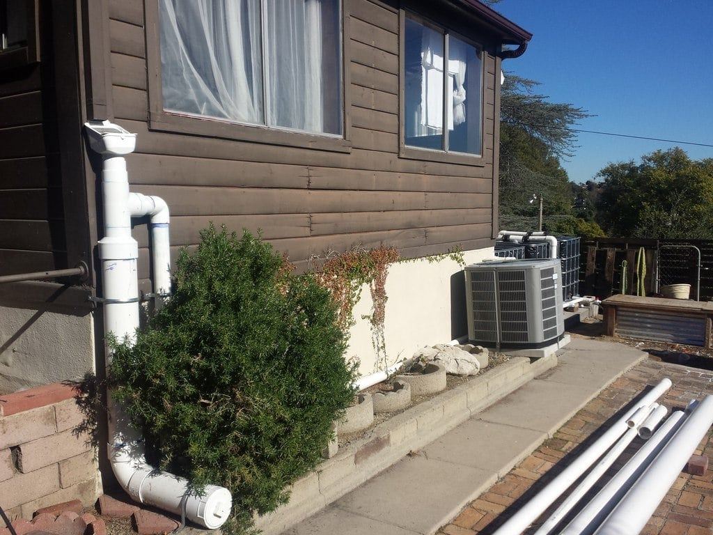 Rainwater Harvesting With Ibc Tanks The Greenman Project