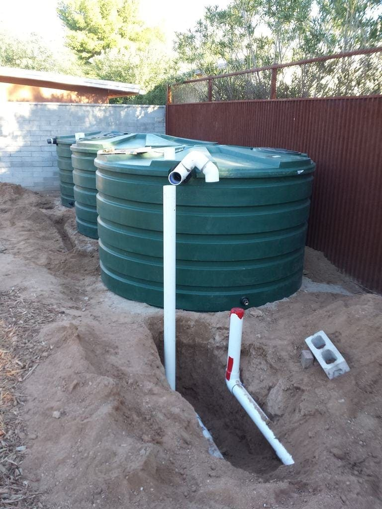 Rainwater Harvesting System Design The Greenman Project
